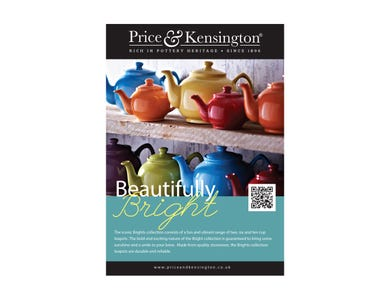 Image for P&K A5 Pos Brights Teapots