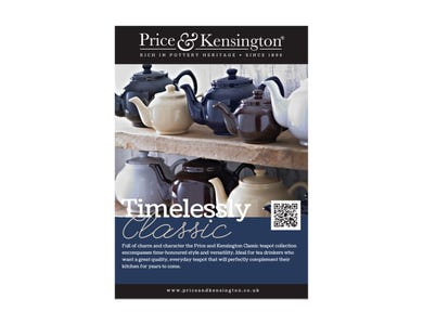 Image for P&K A5 Pos Classic Teapots
