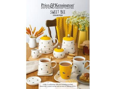 Price & Kensington Sweet Bee Collection A5 Point of Sale